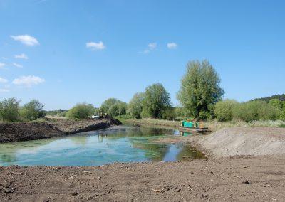 2011 - Ebridge canal restoration begins