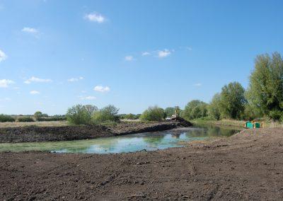 2011 - Restoration begins