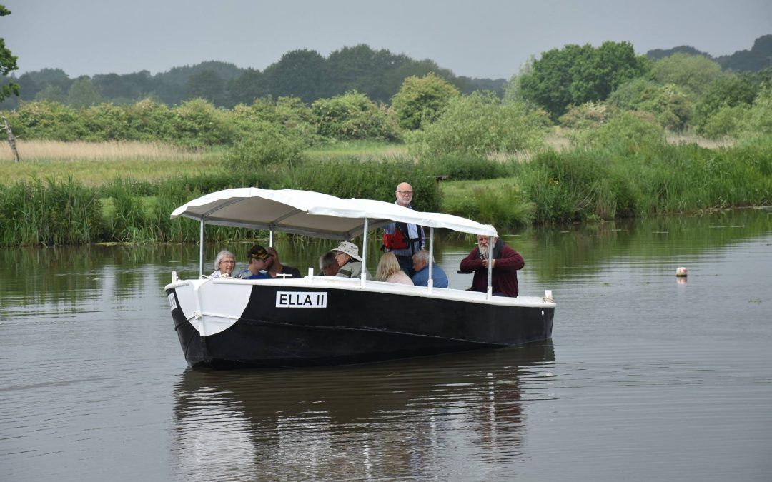 Canal boat trips are resuming