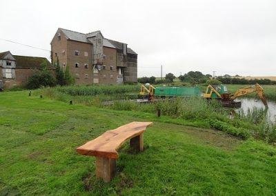2011 - Restoration for the canal at Ebridge begins