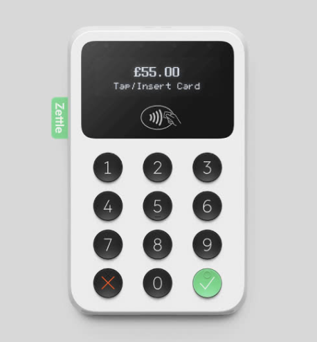 The Trust accepts payments by card machine